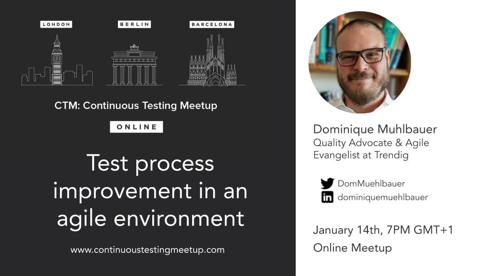 Test process improvement in an agile environment