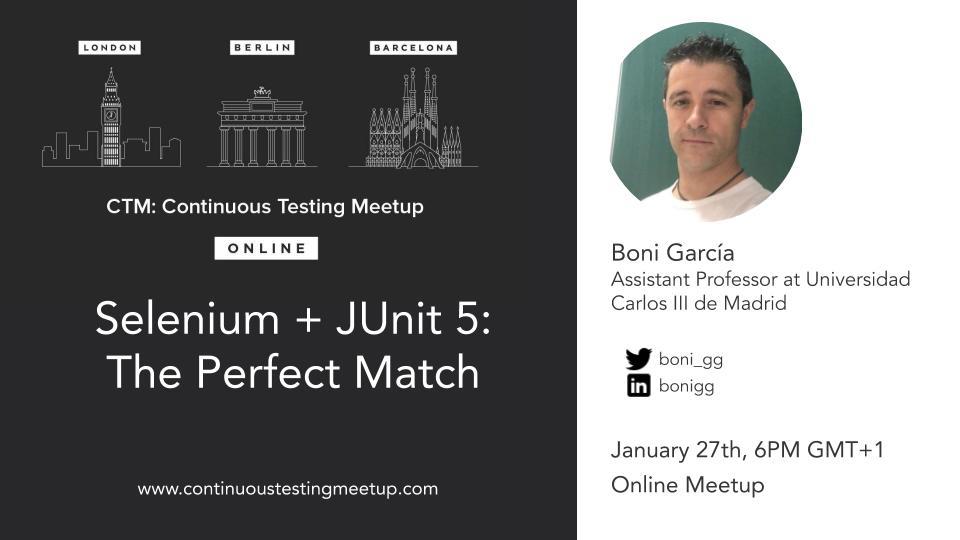 Selenium + JUnit 5: The Perfect Match