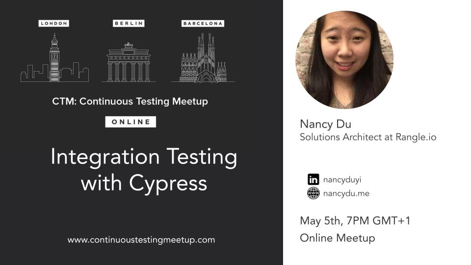 Integration Testing with Cypress